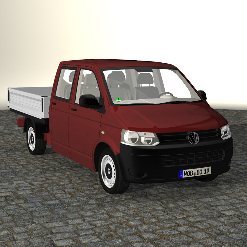 t5 crew cab 2012 3d model