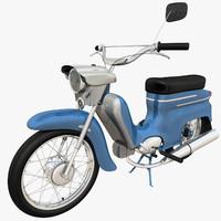 c4d motorcycle jawa pionyr