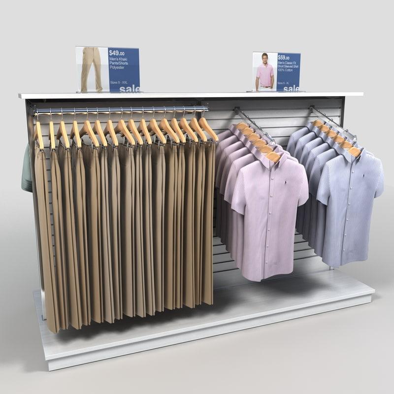 clothing mens short sleeved 3ds