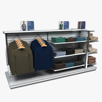 Mens Sweatshirt and Corduroy Display