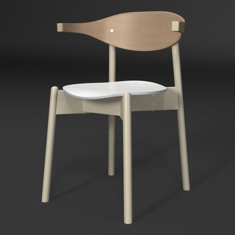 3d armchair lights model