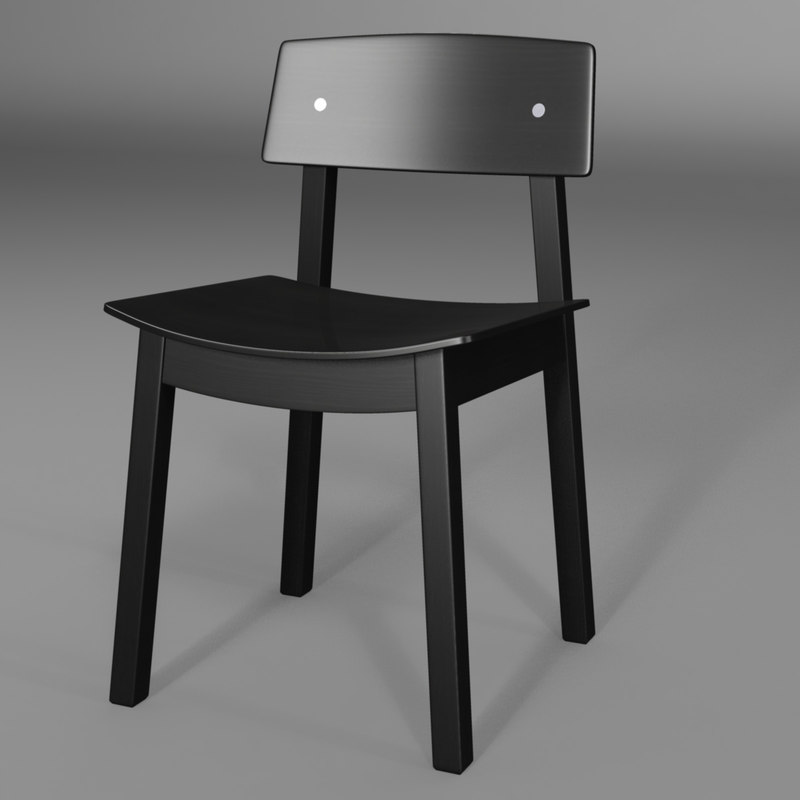 3d model sigurd chair