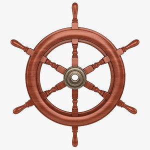 max wooden ship wheel