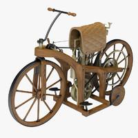 Daimler Old Motorcycle