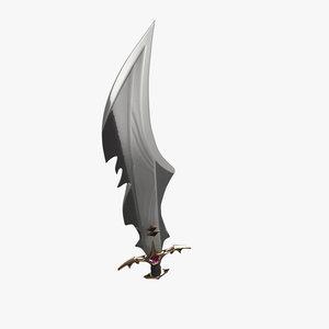 sword old 3d model