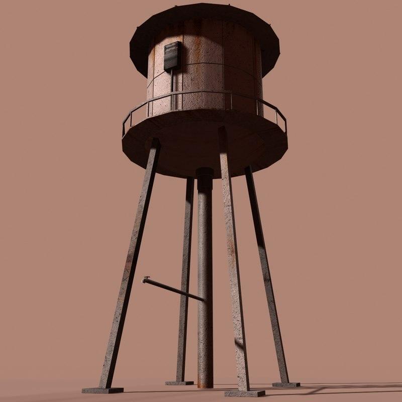 ma metal water tower