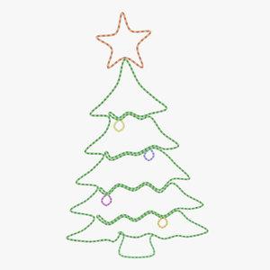 3d christmas led tree