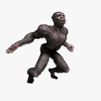 caveman zbrush rig c4d