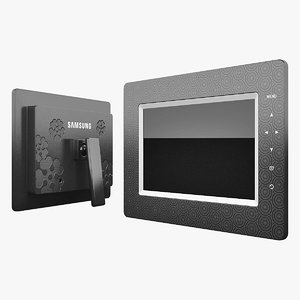 digital photo frame samsung 3d model