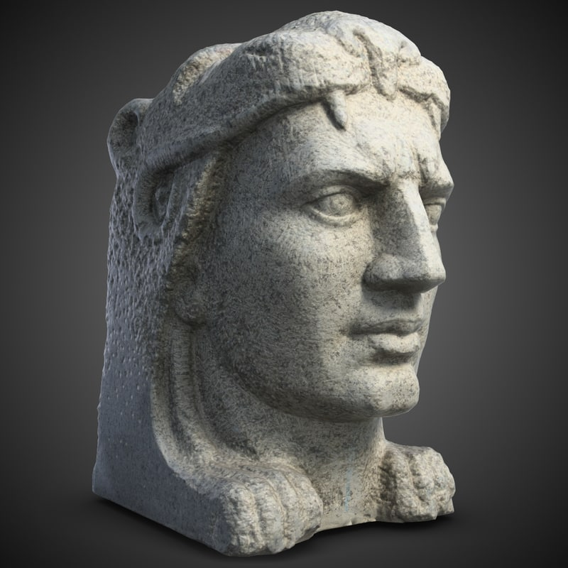 3d evpator sculpture model