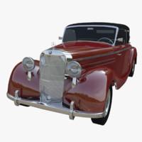 mercedes 1949 3d max