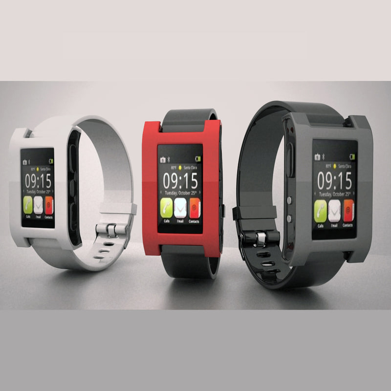 3ds max 30 pebble watch