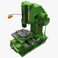 slotting machine b5020 3d model