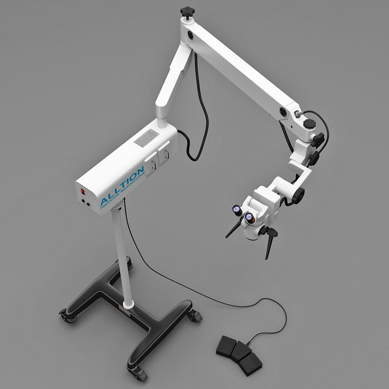 surgical microscope p6000 3d model