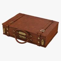 3d louis vuitton vintage briefcase