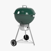 3d weber touch grill