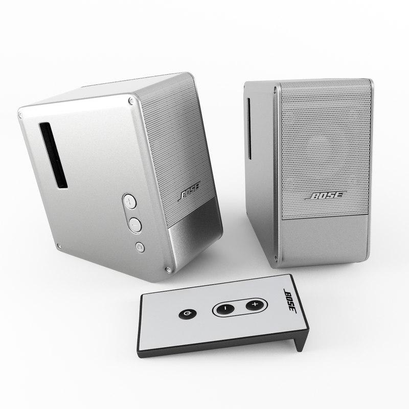 8c25628af4e Bose 3D Models and Textures | TurboSquid.com