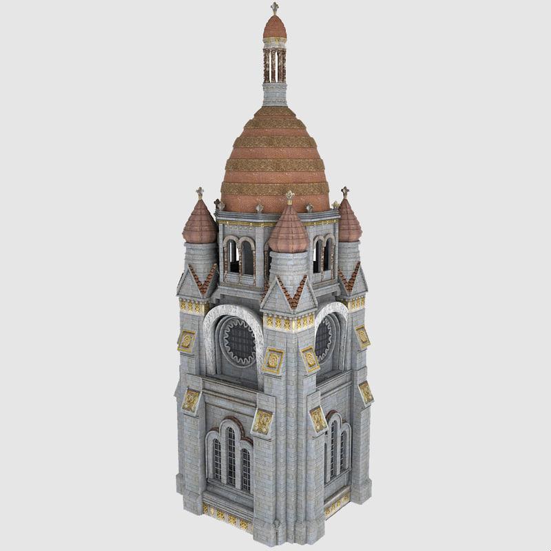 3dsmax church