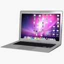MacBook Air 3D models
