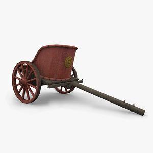 roman chariot 3d max