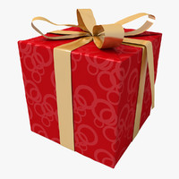 gift celebrations paper 3d obj
