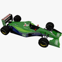 3d model jordan 191 michael schumacher