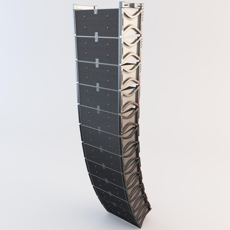 3ds line array speaker