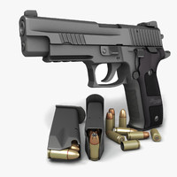Sig Sauer P226 Dark Elite 9mm