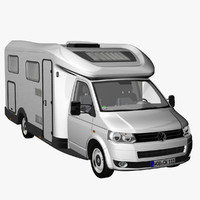 3d t5 camper single cab