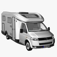 3d t5 camper single cab