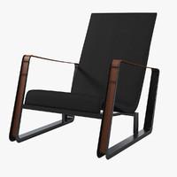 Vitra Jean Prouve Cite Lounge Armchair
