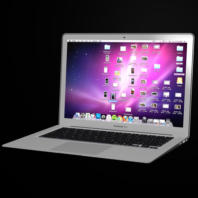 3d macbook air