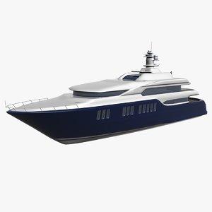 max yacht architectural design