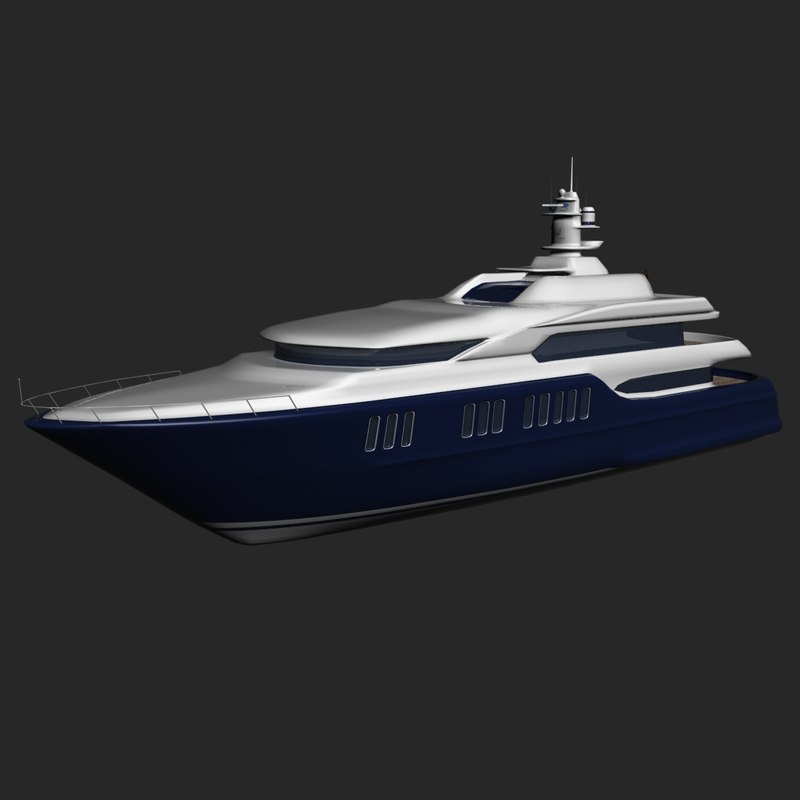 max yacht architectural design