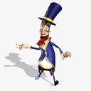 magician 3D models