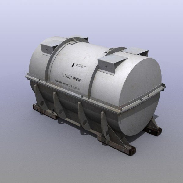 industrial tank 3d max