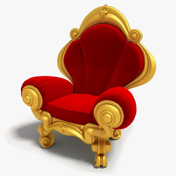 chair king 3d model