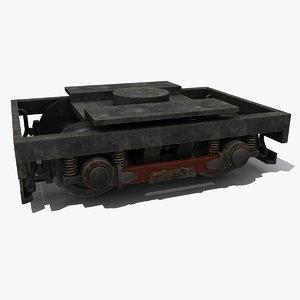 3d train wheels