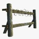 Wooden Fence 3D models