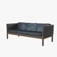 max hans j ch-163 sofa