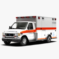 2005 Ford E350 Road Rescue Type 3 Ambulance
