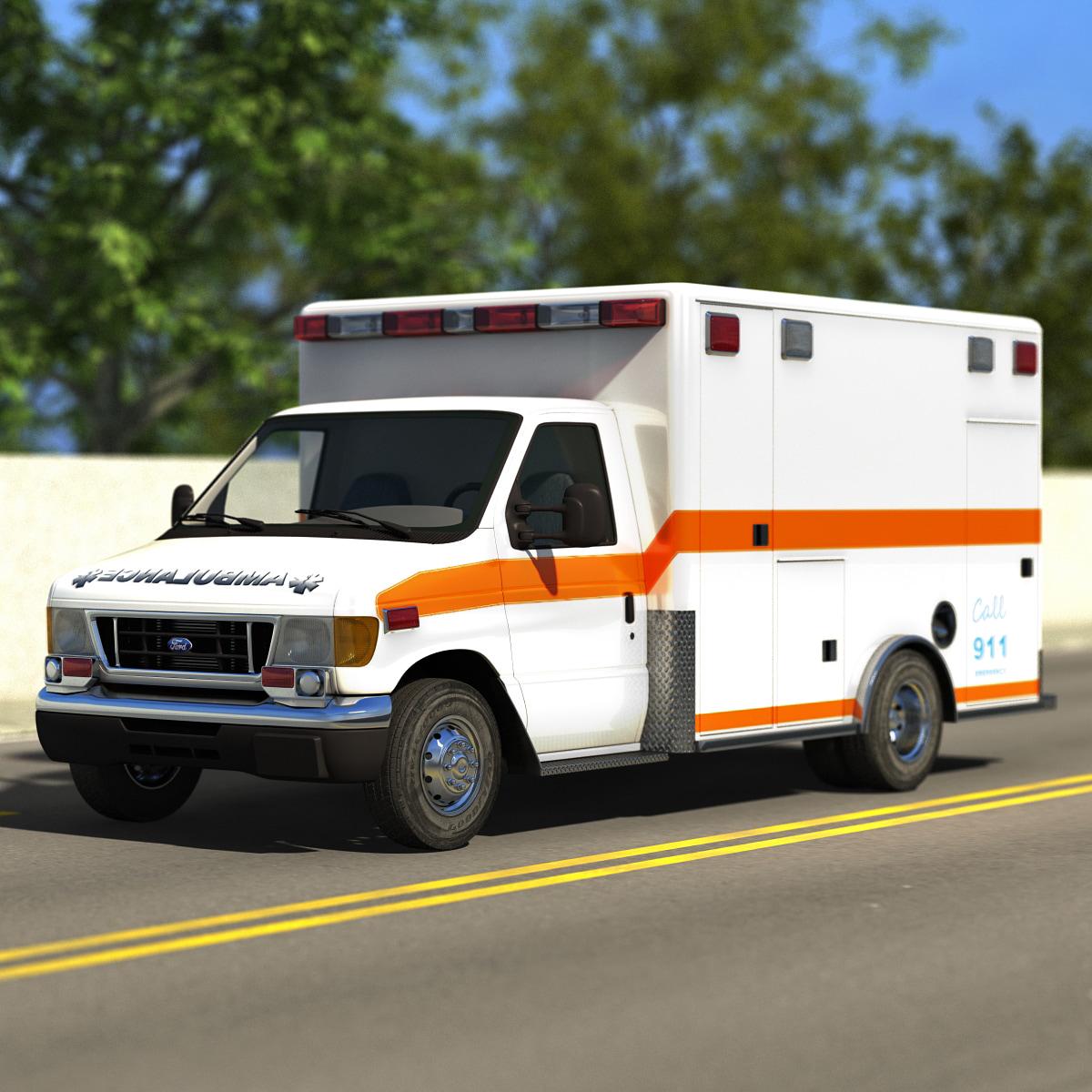 2005 e350 road rescue 3d max
