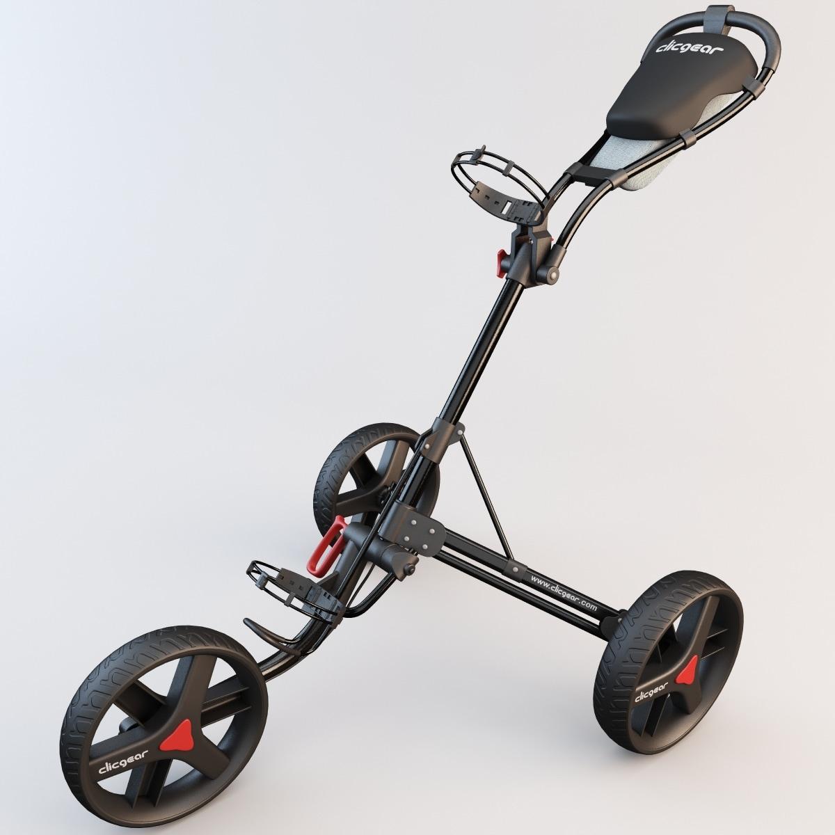 golf trolley cart 3d 3ds