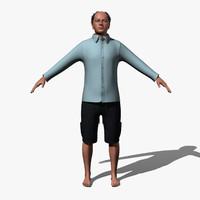 Human Male Dressed
