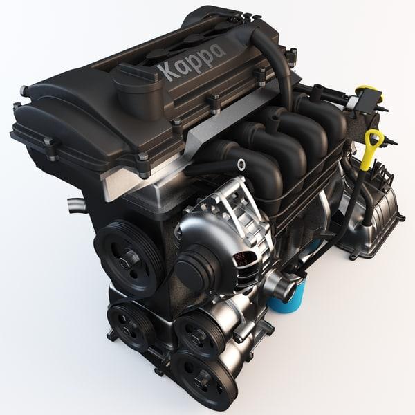 3d kappa engine model