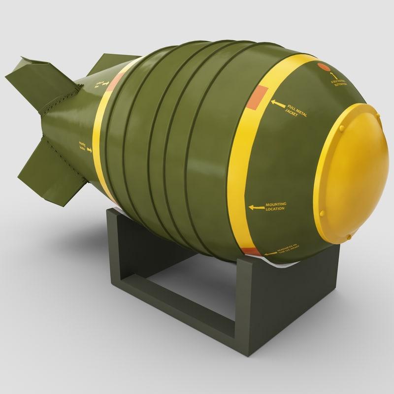atomic bomb mark 6 3d max