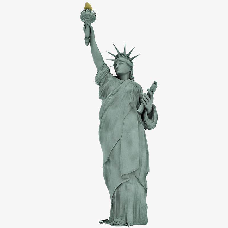 statue liberty body 3ds