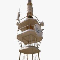 3ds telecommunication tower