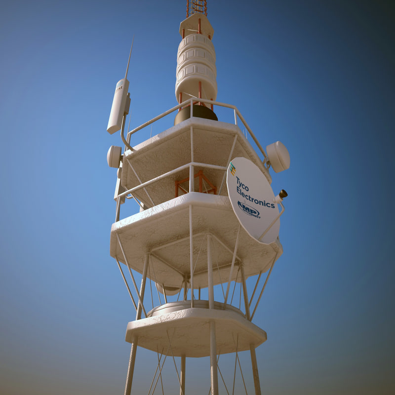 3ds telecommunication tower