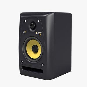 3ds max krk pr6 studio monitor